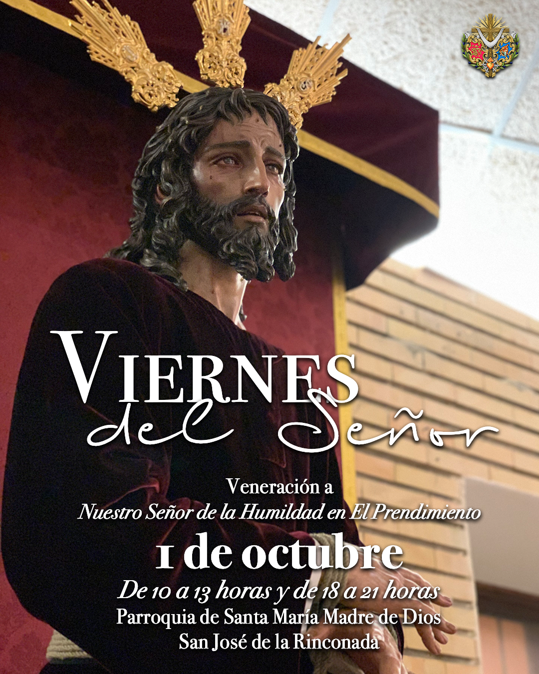 Viernes 1 de octubre: Primer Viernes del Señor del curso